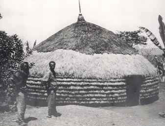 Sidama house near Awassa